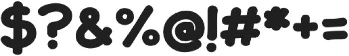 JollyGood Sans Unicase Bold otf (700) Font OTHER CHARS