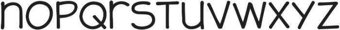 JollyGood Sans Unicase Light otf (300) Font LOWERCASE
