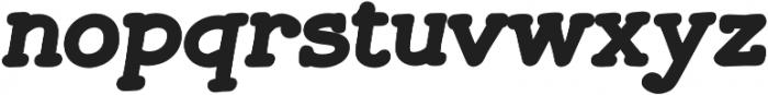 JollyGood Serif Black Italic otf (900) Font LOWERCASE