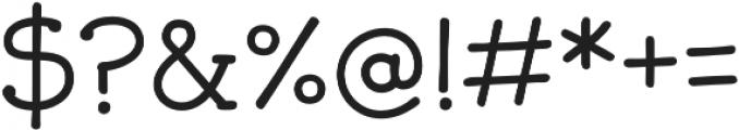 JollyGood Serif Light otf (300) Font OTHER CHARS