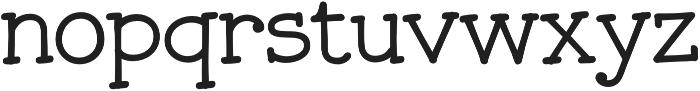 JollyGood Serif Light otf (300) Font LOWERCASE