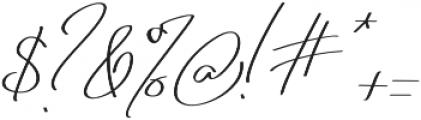 Jonas Beckman Two_Slant otf (400) Font OTHER CHARS