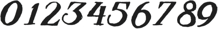 Jonestown ttf (400) Font OTHER CHARS