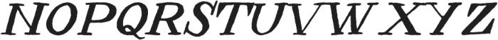 Jonestown ttf (400) Font LOWERCASE