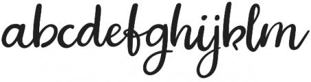 Jopsy Regular otf (400) Font LOWERCASE