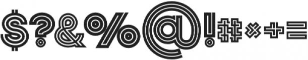 Jordan Bold otf (700) Font OTHER CHARS
