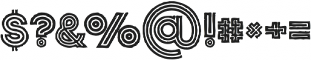 Jordan Medium Grunge otf (500) Font OTHER CHARS