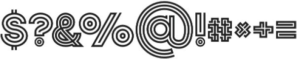 Jordan Regular otf (400) Font OTHER CHARS