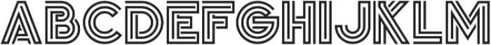 Jordan Regular otf (400) Font UPPERCASE