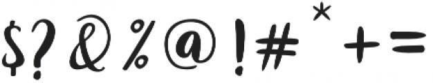 Joshan otf (400) Font OTHER CHARS