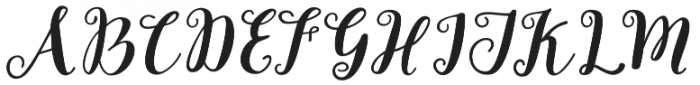 Joshan otf (400) Font UPPERCASE