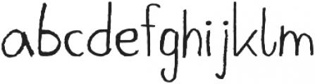 Josia otf (400) Font LOWERCASE