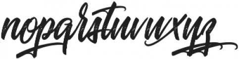 Journey to Thailand ttf (400) Font LOWERCASE