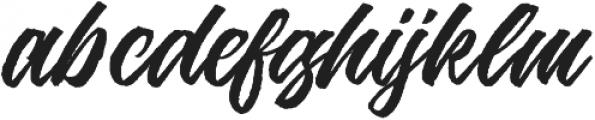 Jouska Regular otf (400) Font LOWERCASE
