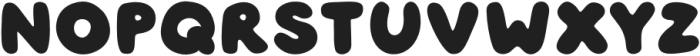 Jouzu Regular otf (400) Font LOWERCASE