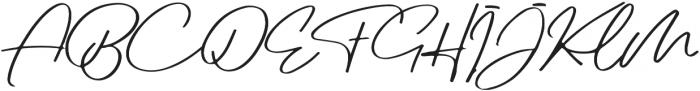 Jovanka Script otf (400) Font UPPERCASE