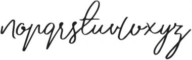 Jovanka Script otf (400) Font LOWERCASE