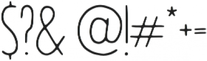 Jovial Light otf (300) Font OTHER CHARS