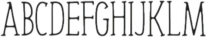 Jovial Light otf (300) Font UPPERCASE