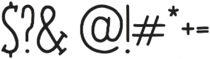 Jovial Regular otf (400) Font OTHER CHARS