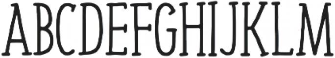 Jovial Regular otf (400) Font UPPERCASE