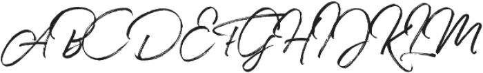 Joyful otf (400) Font UPPERCASE