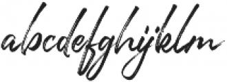 Joyful otf (400) Font LOWERCASE