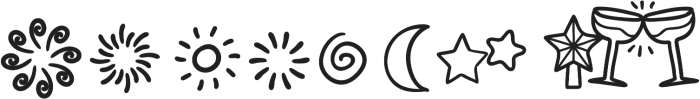 Joyfulness Elements otf (400) Font OTHER CHARS