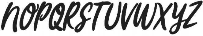 Joyfulness Italic Script otf (400) Font UPPERCASE