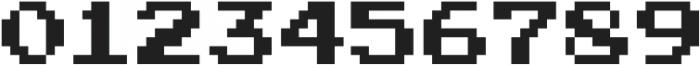 Joystix Proportional otf (400) Font OTHER CHARS