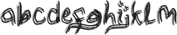 jokoanakteka otf (400) Font LOWERCASE