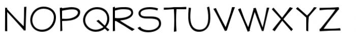 Jolly Good Proper Unicase Light Font UPPERCASE