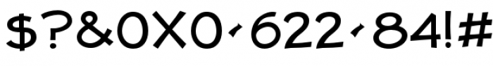 Jolly Good Proper Unicase Regular Font OTHER CHARS