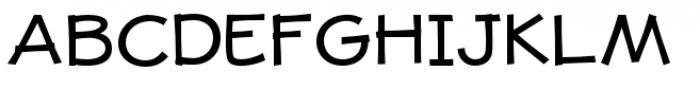 Jolly Good Proper Unicase Regular Font UPPERCASE