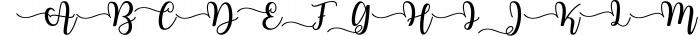 Joshiko Font UPPERCASE