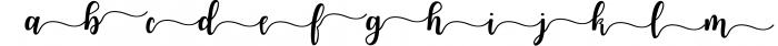 Joshiko Font LOWERCASE