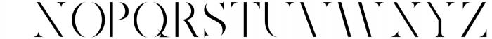 Joshua Tree | A Gorgeous Serif Font UPPERCASE