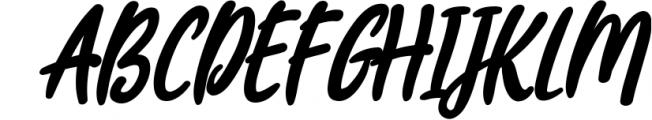 Joyfulness Script Font with Extras Font UPPERCASE