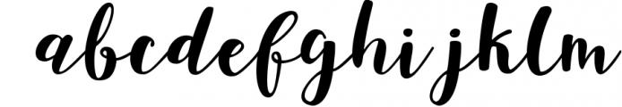 joshan brush script Font LOWERCASE