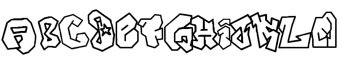 JOKER-SIZE Font UPPERCASE
