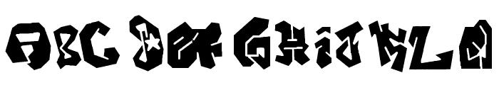 JOKER-SIZE Font LOWERCASE