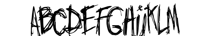 Jo_wrote_a_lovesong Font UPPERCASE