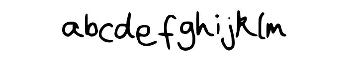 Joanna__s_handwriting Font LOWERCASE