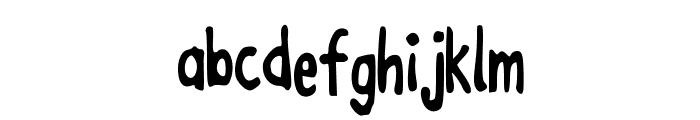 JoanneEnzymeKinetics Font LOWERCASE