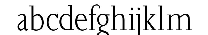 JoaoCond-Light Font LOWERCASE