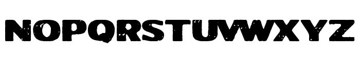 Jodido&Noble Font UPPERCASE