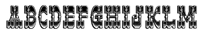 JoeClement Font UPPERCASE