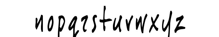 JoeHand1 Font LOWERCASE