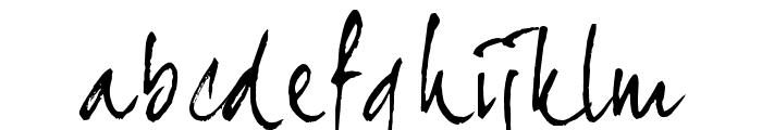 JoeHand2 Font LOWERCASE