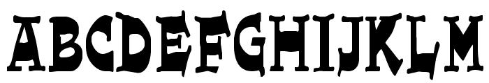 JoePerry Font UPPERCASE